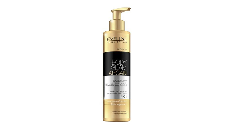 body glam argan eveline cosmetics